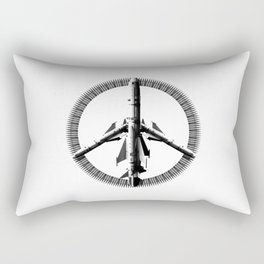 War is Peace Rectangular Pillow