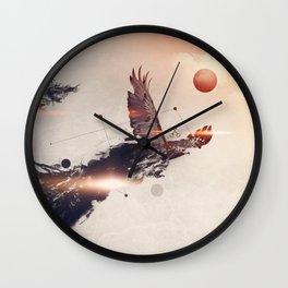 Break away Wall Clock