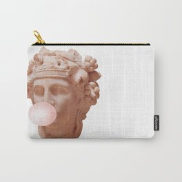 Pink Bubble Gum Carry-All Pouch