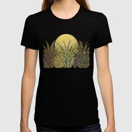 """Golden aloe Zebra midnight sun"" T-shirt"