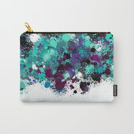 paint splatter on gradient pattern bbtpb Carry-All Pouch