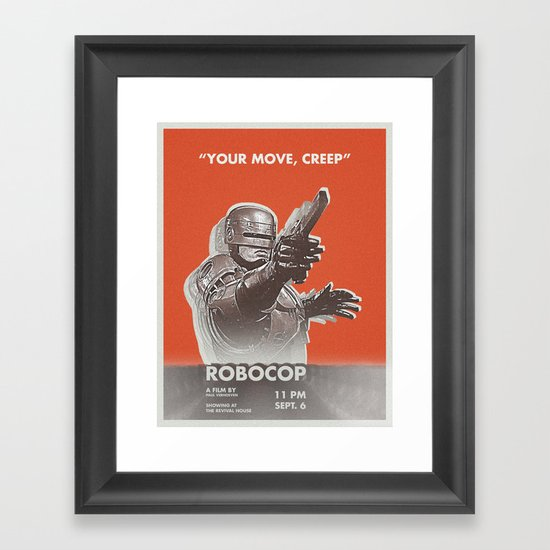 your move, creep Framed Art Print