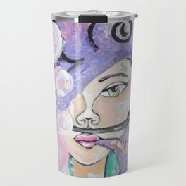 SCUBA GIRL Travel Mug