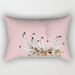 Ciggie Legs Rectangular Pillow