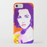jenny liz rome iPhone & iPod Cases featuring Liz by Marco Kooiman