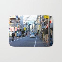 Shibuya Back Streets, Tokyo Bath Mat