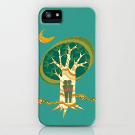 Carve Our Love iPhone Case