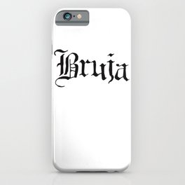 Bruja iPhone Case