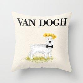 Van Dogh Throw Pillow
