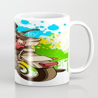 silent hill Mugs featuring Silent by Don Kuing