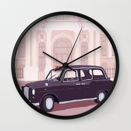 London Taxi Cab Wall Clock