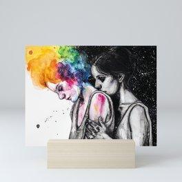 Always with me Mini Art Print