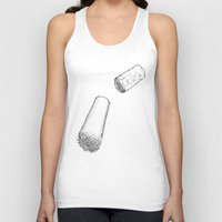 cabin pressure Tank Tops featuring Under pressure by Sofish'art