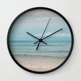 Be Here Now II Wall Clock