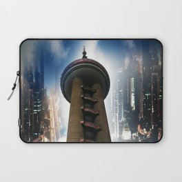 Shanghai - Oriental Pearl Tower Laptop Sleeve