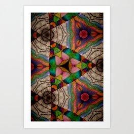 Trissalita Kaleidoscopes Art Print
