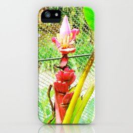 Tropical Petals iPhone Case
