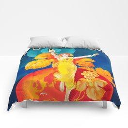 SES CABLIS AUTHENTIQUES VINTAGE POSTER Comforters