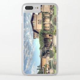 Roman Baths Clear iPhone Case