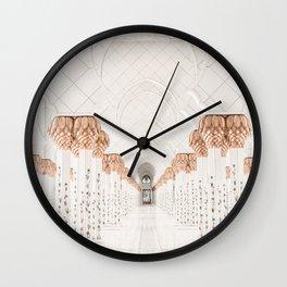 Sheik Zayed Mosque Abu Dhabi Wall Clock