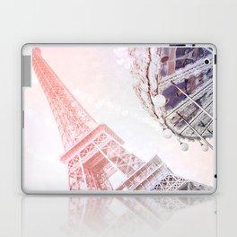Shimmering Pink Paris Memories Laptop & iPad Skin