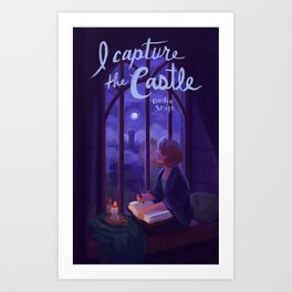 I Capture the Castle Art Print