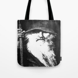 Scandinavian Mythology the Ancient God Odin Tote Bag