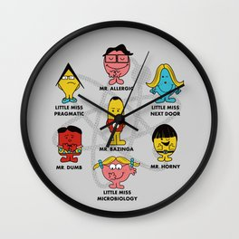 Mr. and Little Miss TBBT Wall Clock