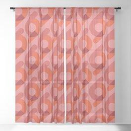 Niogtres Sheer Curtain