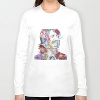 dave grohl Long Sleeve T-shirts featuring Dave Grohl by Bethan Eastwood