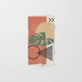Nature Geometry I Hand & Bath Towel