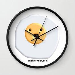 Cute egg Wall Clock