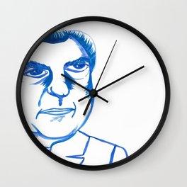 NOT A CROOK (LEFT) Wall Clock