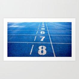 Athletics Art Print