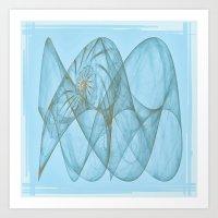 shell Art Prints featuring Shell by Susann Mielke