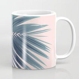 Palm Leaf Blush Vibes #1 #tropical #decor #art #society6 Coffee Mug