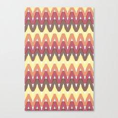 Summer Pattern 11 (Bonfire) Canvas Print