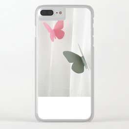 Libertad Clear iPhone Case