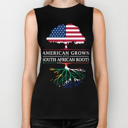 American Grown with South African Roots   South Africa Design Biker Tank