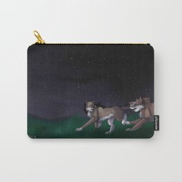 Sena and Patrick: Night sky Carry-All Pouch