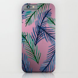 Botanical  pattern I iPhone Case