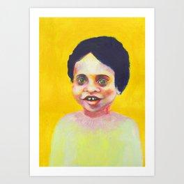 Les petites filles I.25 Art Print