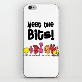 Meet The Bits iPhone Skin