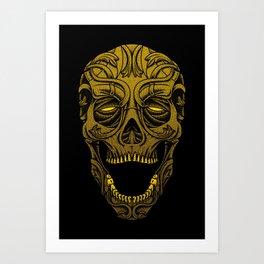 Dark Carver Art Print