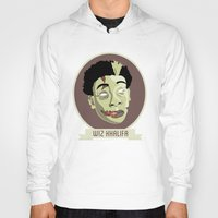 wiz khalifa Hoodies featuring zombie wiz by Sneaker Pie