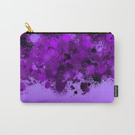 paint splatter on gradient pattern dp Carry-All Pouch