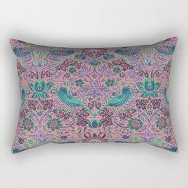 "William Morris ""Strawberry Thief"" 8. Rectangular Pillow"