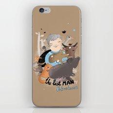 The Last Man in Fukushima iPhone & iPod Skin