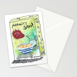 Super Cereal Morality Bites - Contains Free Toy! Stationery Cards