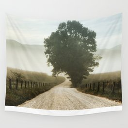Cades Cove Tree of Life Landscape Photograph Gatlinburg Tennessee Wall Tapestry